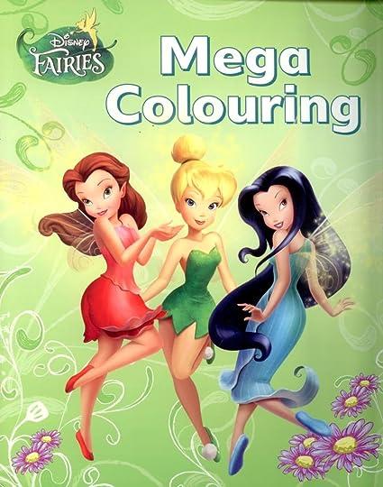 Disney Hadastinkerbell Mega Libro Para Colorear Amazones