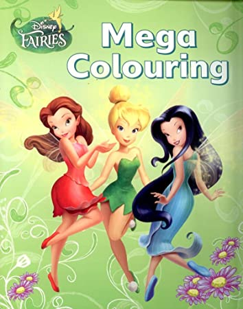 Disney Fairies Tinkerbell Mega Colouring Book