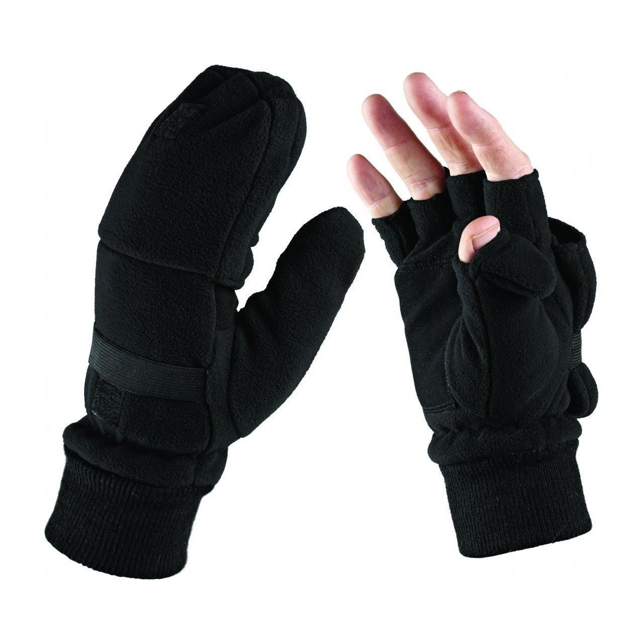 Dickies GL8005 BK One Size Half Finger Gloves - Black