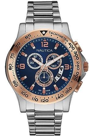 men s nautica watches nai22503g amazon co uk watches men s nautica watches nai22503g