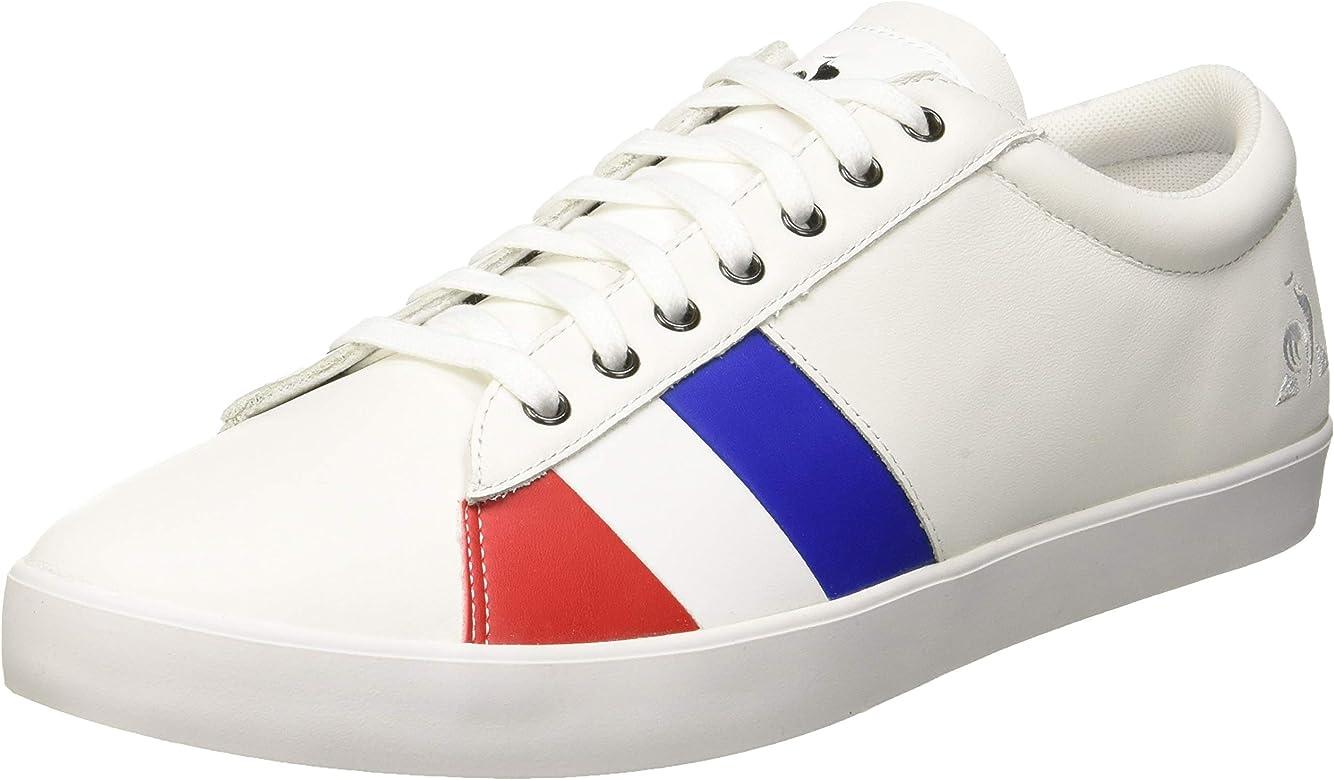 LE COQ SPORTIF Flag Premium, Zapatillas para Hombre, Blanco (Optical White Optical White), 40 EU: Amazon.es: Zapatos y complementos