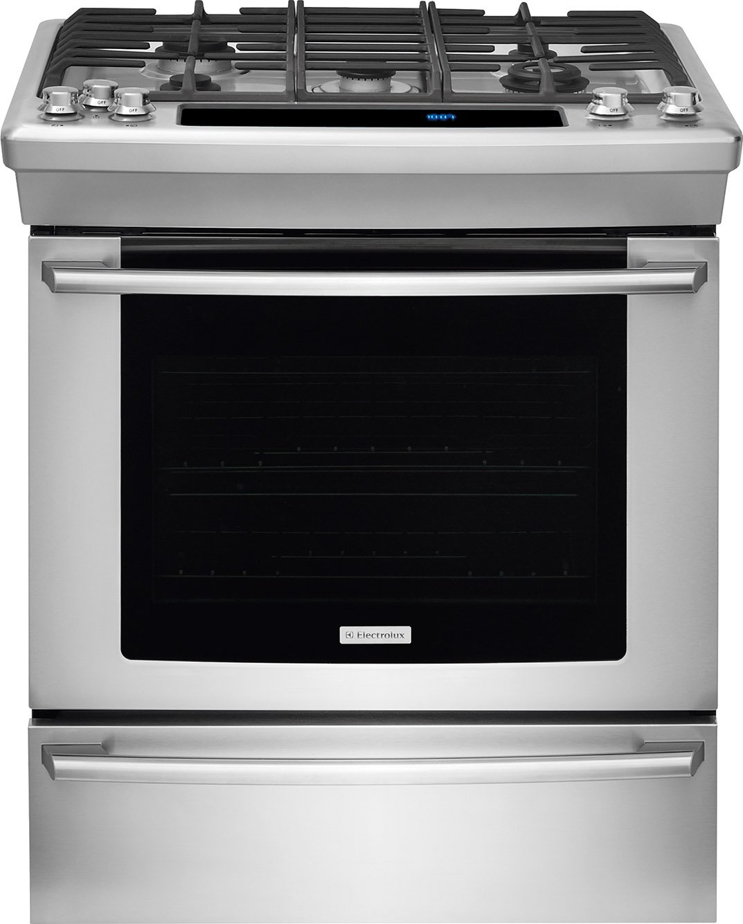 Electrolux EW30GS80RSWave-Touch 30'' Stainless Steel Gas Slide-In Sealed Burner Range - Convection