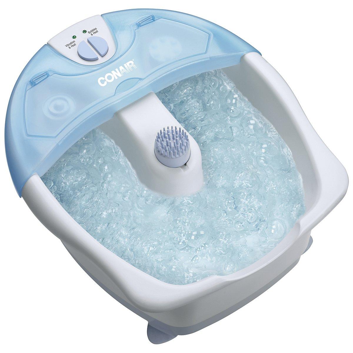Conair FB5TC Whirlpool Massaging Foot Bath (White): Amazon.ca ...