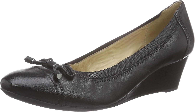 TALLA 36 EU. Geox D Floralie A, Zapatos de Tacón para Mujer