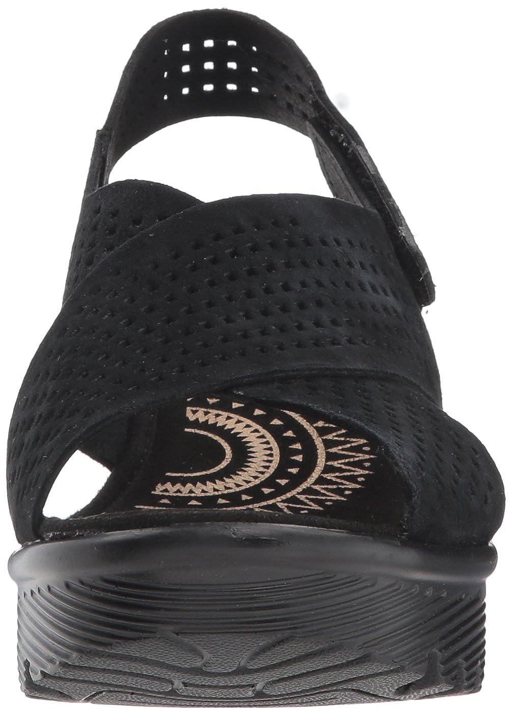 34b7ac54f791 Amazon.com  Skechers Women s Parallel Infrastructure Wedge Sandal  Shoes