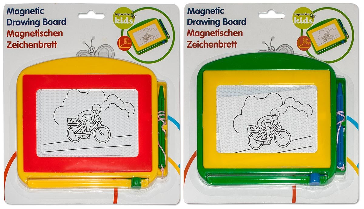 Magnettafel Zaubertafel Zeichentafel Schreibtafel Malen Maltafel 17,5x13,5cm