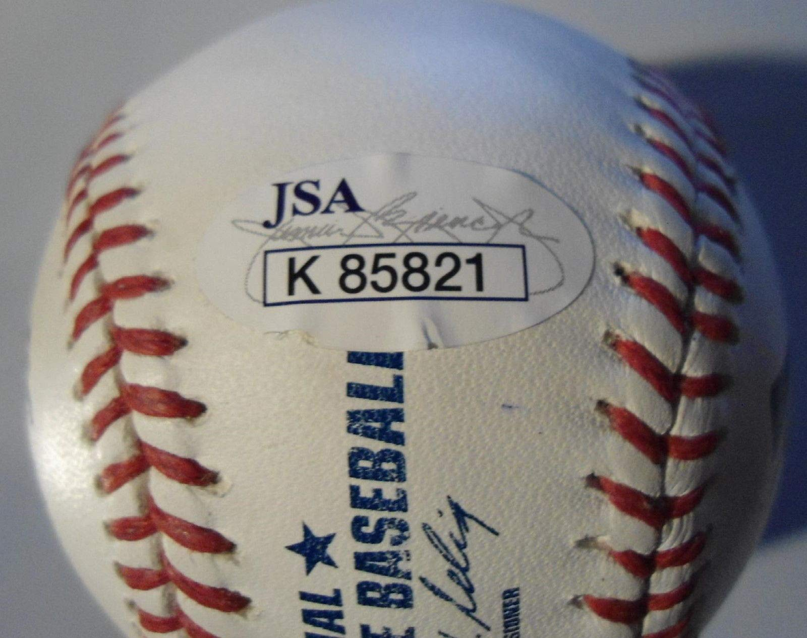 Joe Mauer Autographed Signed Official Basebal Minnesota Twins JSA Coa