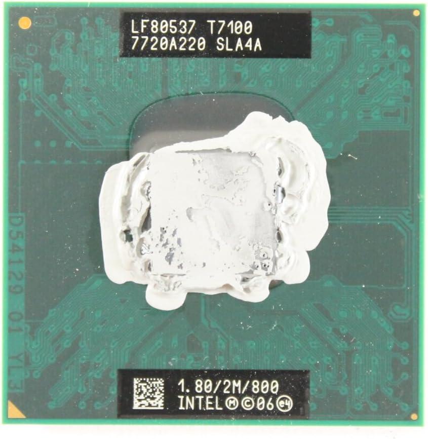 Intel 1.8 GHz Core 2 Duo CPU Processor T7100 SLA4A Dell Latitude D630