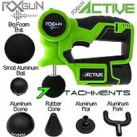 RxGun ACTIVE Percusión Masajeador profesional Inalámbrico Recargable Portátil Percusión Tejido profundo Cuerpo Músculo neuromuscular Golpeteo Vibración Terapia de pistola de masaje NO TheraGun Hypervolt