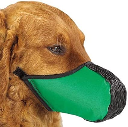 Dog Safety Muzzle in Soft Nylon Animal//Dog//Puppy//Rabbit//Care//Pet//Gift!