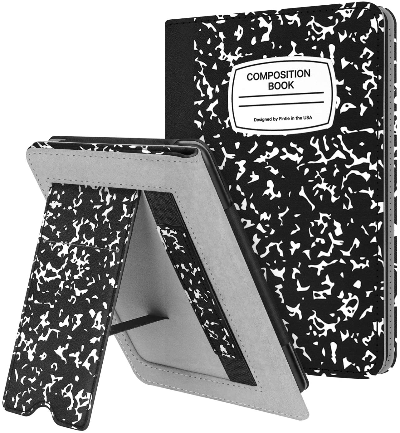 7th Generation will not fit previous generation Kindle devices Protective Leather Cover for Kindle Black