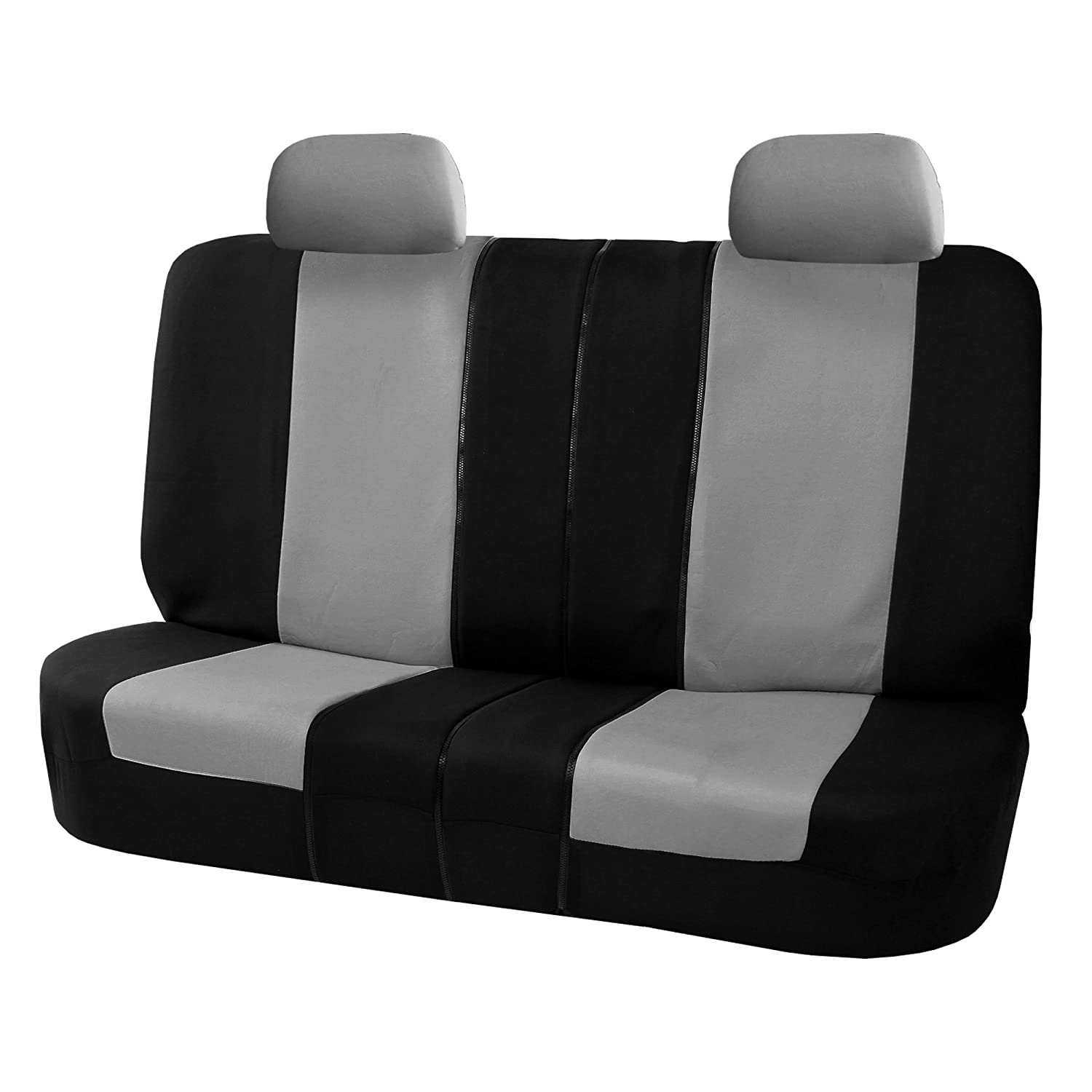 Fantastic Fh Fb051R012 Multifunctional Flat Cloth Bench Seat Covers Allow 40 60 60 40 50 50 Split Gray Black Color Caraccident5 Cool Chair Designs And Ideas Caraccident5Info