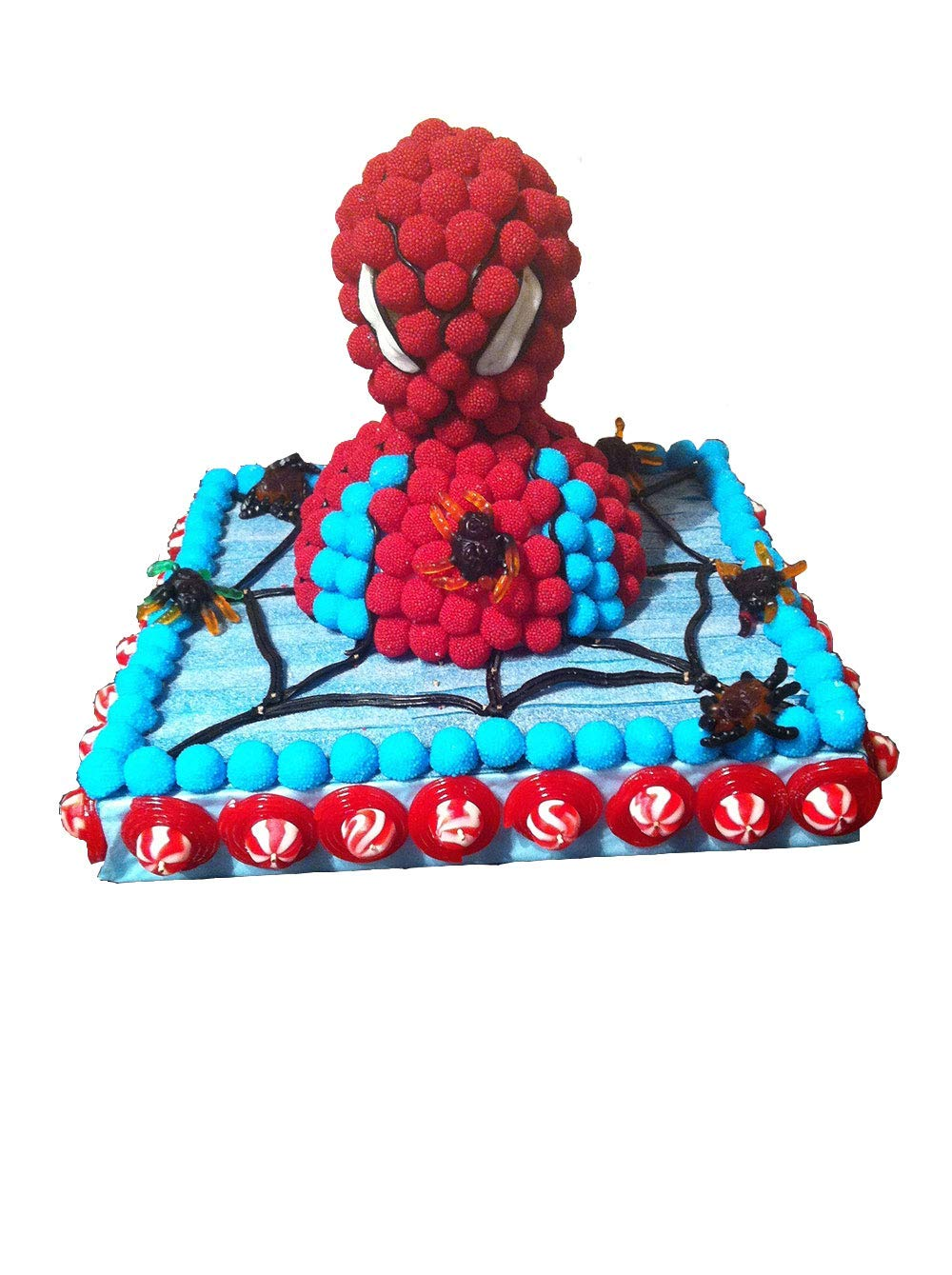Tarta chuches Spiderman cumpleaños: Amazon.es: Handmade