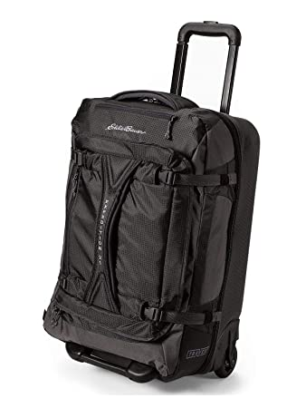 Amazon.com  Eddie Bauer Unisex-Adult Expedition Drop Bottom Rolling Duffel  - Medium e59e4f967ba