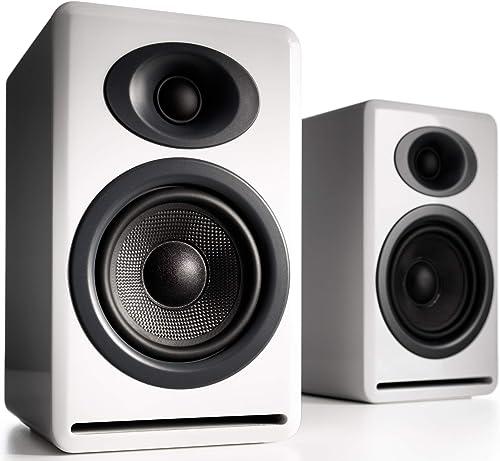 Audioengine P4 White Pr. 2-Way Passive Bookshelf Speakers AP4W