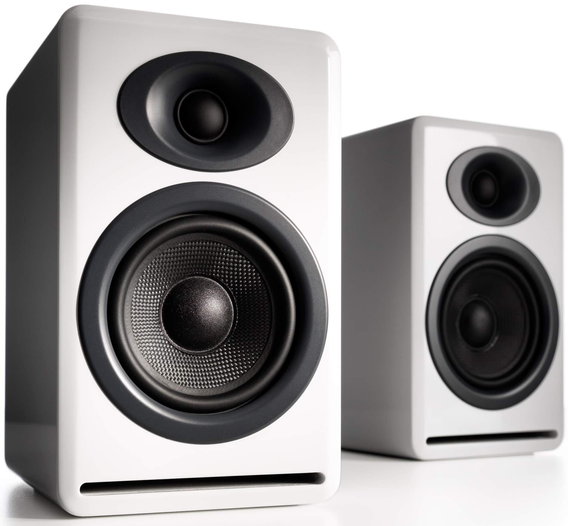 Audioengine P4 White (Pr.) 2-Way Passive Bookshelf Speakers (AP4W)