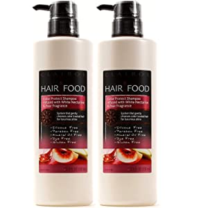 Hair Food Color Protect infused with White Nectarine & Pear Fragrance (SHAMPOO 2 PACK)