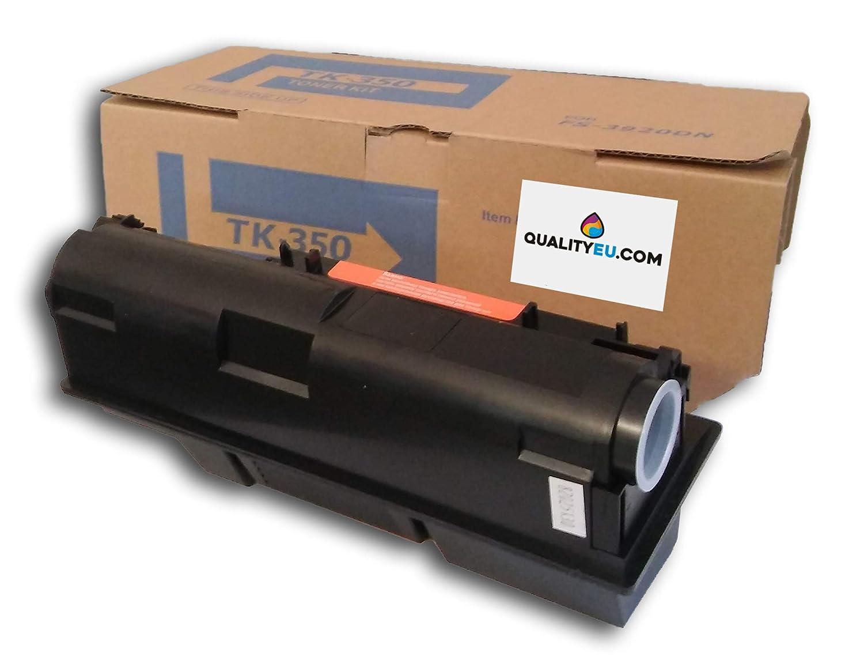 Toner TK-350 Negro Compatible con Impresora Kyocera FS3000, FS3100, FS-3920DN, FS-3040MFP, FS-3140MFP, FS-3040MFP+, FS-3140MFP+, FS-3540MFP, ...