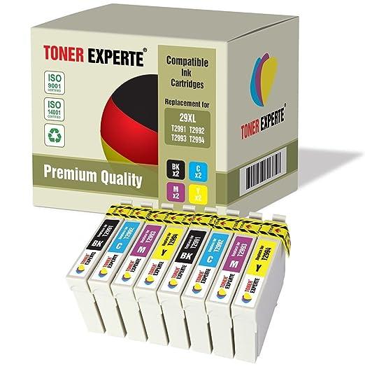 13 opinioni per Kit 8 XL TONER EXPERTE® Cartucce d'inchiostro compatibili con Epson 29XL