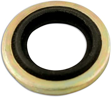 Connect 31780 1//8 BSP Bonded Seal Washer Impact