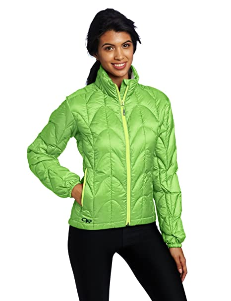 Amazon.com: Outdoor Research chamarra Aria para mujer: Clothing
