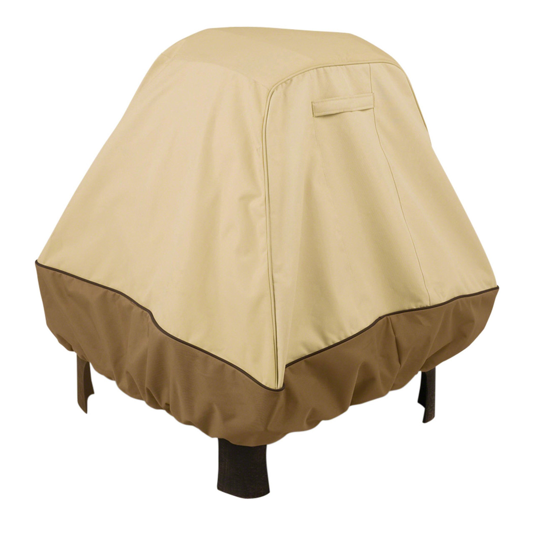 Classic Accessories Veranda Fire Pit Cover, X-Large, Standing