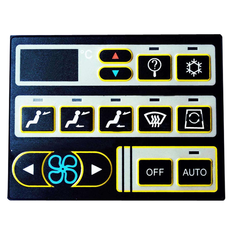 sinocmp aire acondicionado panel de control excavadora 24/V aire acondicionado controlador para VOLVO ec290blc EC240BLC EC210BLC ec360blc