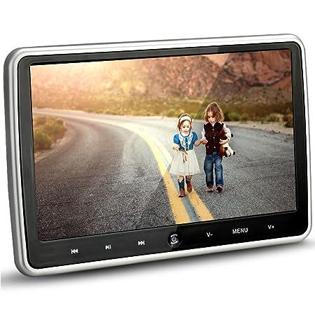 Amazon.com: Alondy 10.1 Inch HD 1024 x 600 HDMI USB SD IR/FM Ultra Thin Digital LCD Screen Car DVD Player Headrest Monitor: Car Electronics