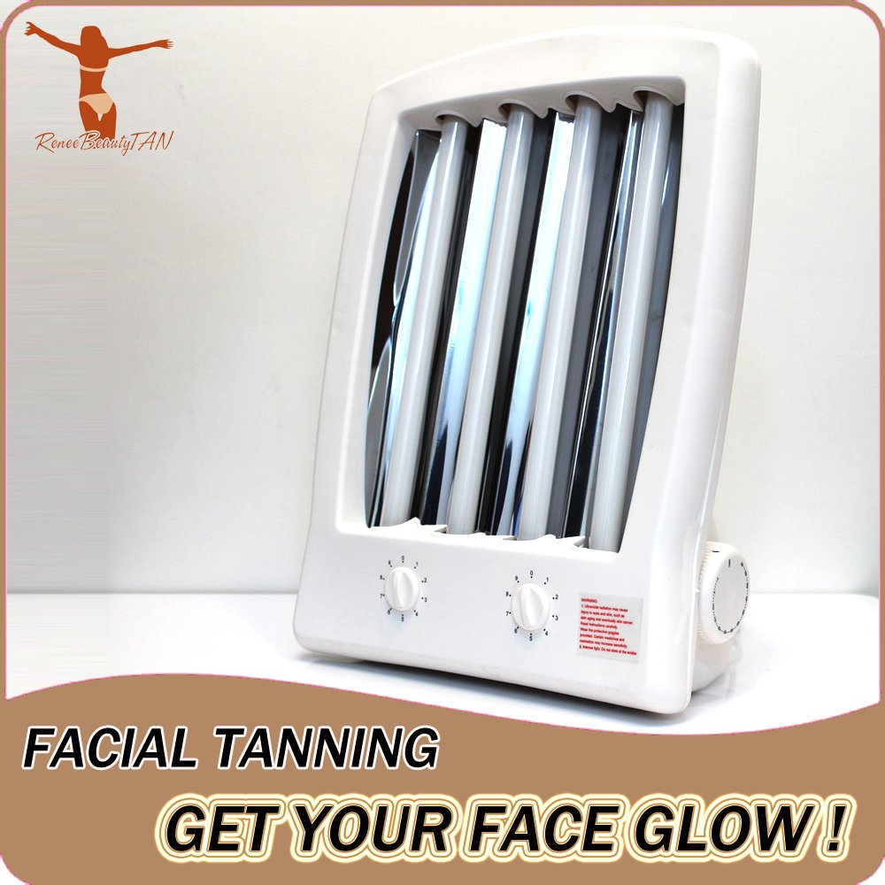 Awesome Amazon.com : Reneetan NEW Facial Tanning Sun Solarium Lamp 110v Uv Goggles  Face Tanner Love Bronzer Skin Enjoy An Eye Catching Sun Tan All Year Round  New ...