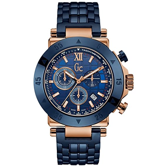 GC by Guess reloj hombre Sport Chic Collection GC-1 Sport cronógrafo X90012G7S: Amazon.es: Relojes