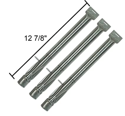 Premium Grill Parts (3 Pack) Stainless Steel Tube Burner For Backyard Grill  Models