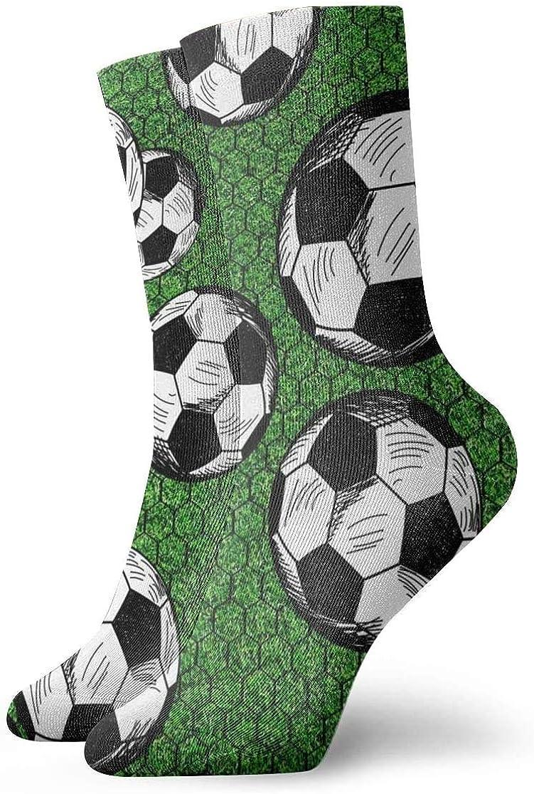 ASS Pack de calcetines de vestir unisex Balones de fútbol y calcetines red divertidos de poliéster: Amazon.es: Ropa y accesorios