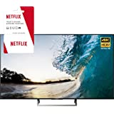 Sony XBR-65X850E 65-inch 4K HDR Ultra HD Smart LED TV (2017 Model) w/1 Month Netflix Subscription