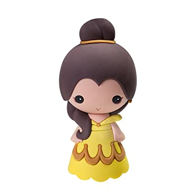 Disney Beauty & The Beast - Belle 3D Magnet Character Magnet: Toys & Games