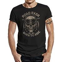 Gasoline Bandit Original Biker Racer Camiseta: Road Rash