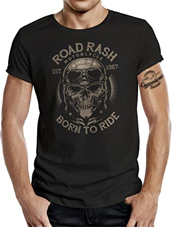 t-shirt tête de mort homme 4