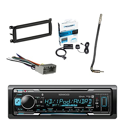amazon com kenwood in dash stereo receiver bluetooth with sirius rh amazon com Aftermarket Radio Wiring Harness Car Radio Wiring Harness Adapter