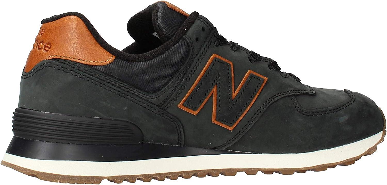 new balance 574 noire homme