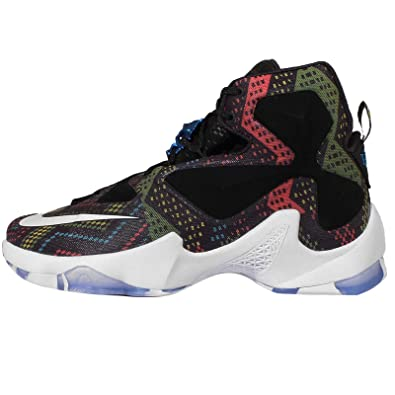 Nike Men's Lebron XIII BHM EP, BHM-MULTI-COLOR/WHITE-BLACK
