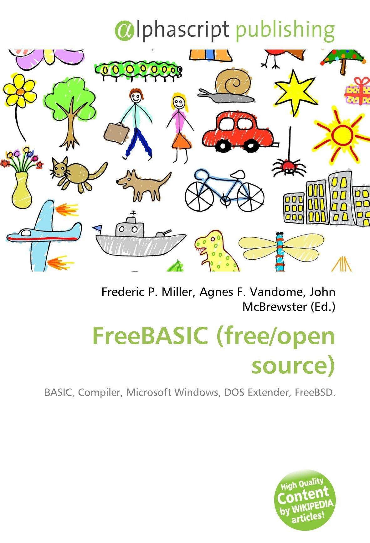 freebasic free open source 本 通販 amazon