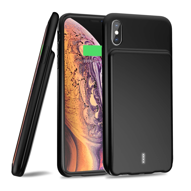Funda Con Bateria de 5000mah para Apple Iphone Xs Max SAMTO [7V4RS62G]