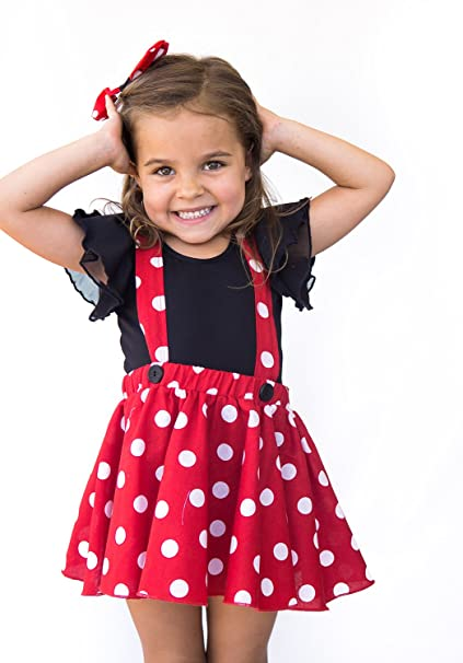 Amazon.com: myX Couture bebé niña Minnie Mouse cumpleaños ...