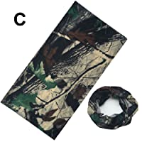 Realtree Real Tree Leaf Camouflage Camo Multi Functional Snood Scarf Face Mask Head Cover Hat Balaclava