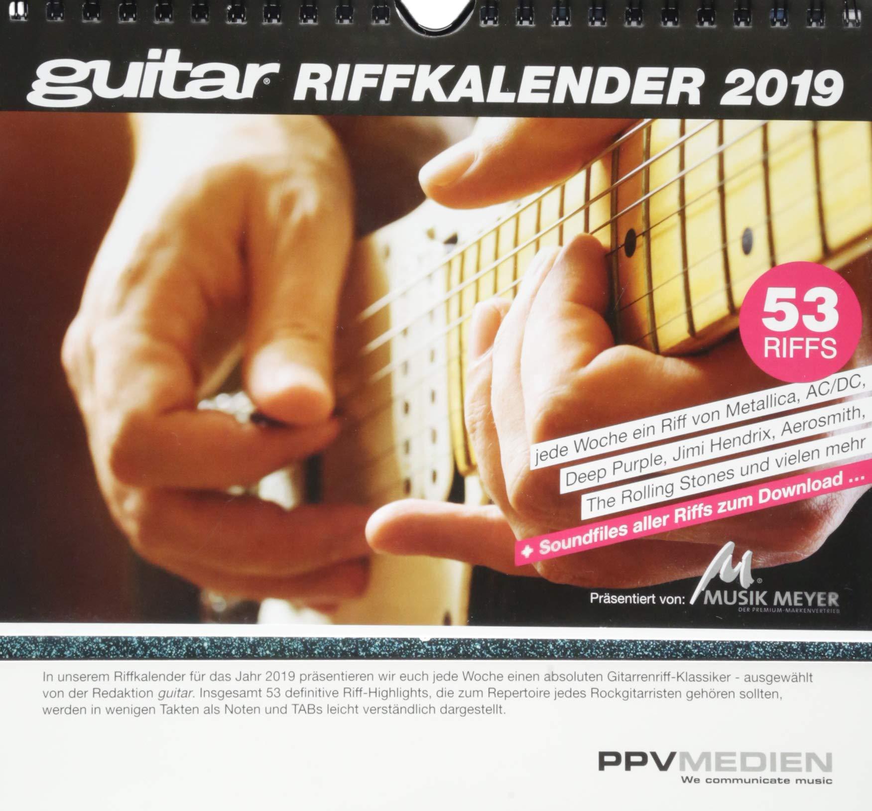 Guitar Riff Kalender