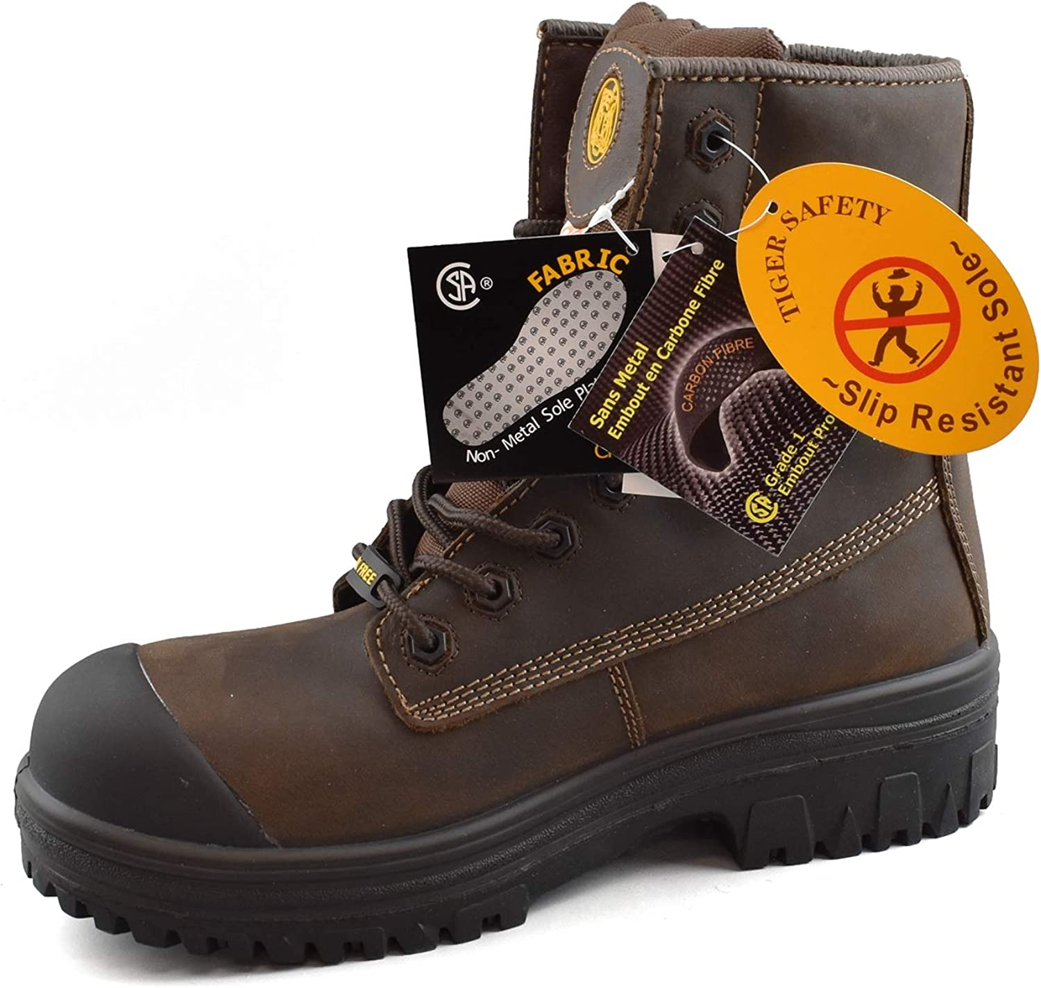 Tiger Mens Safety Boots CSA Approved