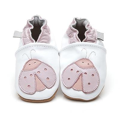 Chaussures en cuir de luxe pour bébé Coccinelle 0-6 mois