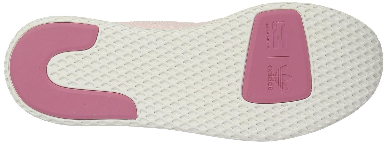 adidas Originals Women's Pw Hu Tennis Shoe B077XGQGR2 6 B(M) US|Ice Pink/Ice Pink/Chalk White