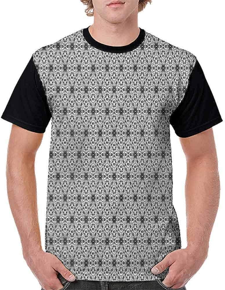 Vintage T-Shirt,Abstract Geometric Fashion Personality Customization