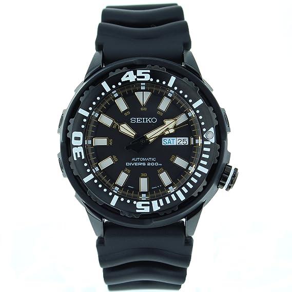Seiko SRP231 - Reloj de hombre automático negro: Seiko: Amazon.es: Relojes