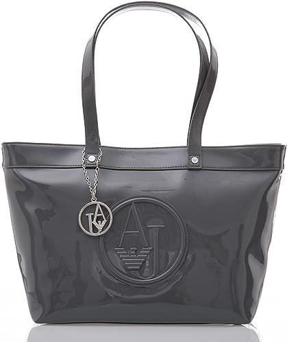 Nuova Collezione Armani Jeans Borse.Borsa Lucida Vernice Bag Shopping Donna Armani Jeans Amazon It Scarpe E Borse